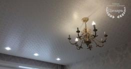 Натяжной потолок из декоративной пленки в Хабаровске