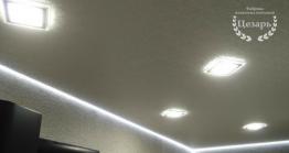 Парящий натяжной потолок в Хабаровске